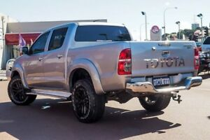 2014 Toyota Hilux KUN26R MY14 SR5 Double Cab Silver 5 Speed Manual Utility