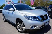 2015 Nissan Pathfinder R52 MY15 Ti X-tronic 2WD Brilliant Silver 1 Speed Constant Variable Wagon Phillip Woden Valley Preview