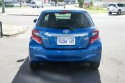 2015 Toyota Yaris NCP130R Ascent Tidal Blue 4 Speed Automatic Hatchback Osborne Park Stirling Area Preview