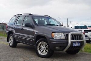 2003 Jeep Grand Cherokee WG MY2003 Limited Grey 5 Speed Automatic Wagon Myaree Melville Area Preview