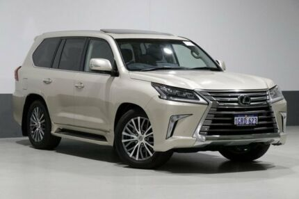 2017 Lexus LX570 URJ201R Facelift Silk 8 Speed Automatic Wagon Bentley Canning Area Preview