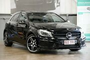 2014 Mercedes-Benz A200 W176 D-CT Black 7 Speed Sports Automatic Dual Clutch Hatchback Albion Brisbane North East Preview