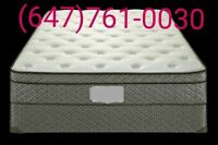>Brand new Pillow top queen mattress & Box spring included deliv