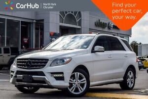 2015 Mercedes-Benz M-Class ML 350 BlueTEC 4Matic|Sunroof|BlindSp