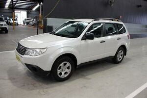 2008 Subaru Forester S3 MY09 X AWD White 5 Speed Manual Wagon Maryville Newcastle Area Preview