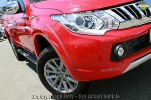2016 Mitsubishi Triton MQ MY16 Upgrade GLS (4x4) Red 5 Speed Automatic Dual Cab Utility Springwood Logan Area Preview
