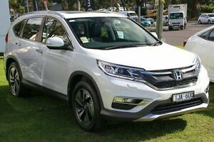2016 Honda CR-V RM Series II MY17 VTi-L 4WD White 5 Speed Sports Automatic Wagon Ferntree Gully Knox Area Preview