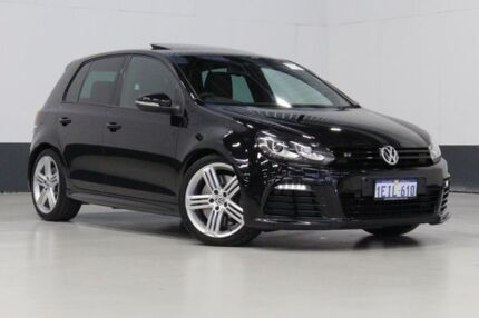 2013 Volkswagen Golf 1K MY13 R Black 6 Speed Direct Shift Hatchback