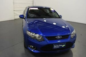 2014 Ford Falcon FG MK2 XR6T Kinetic Blue 6 Speed Auto Seq Sportshift Sedan