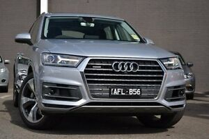 2015 Audi Q7 4M MY16 TDI Tiptronic Quattro Silver 8 Speed Sports Automatic Wagon Burwood Whitehorse Area Preview