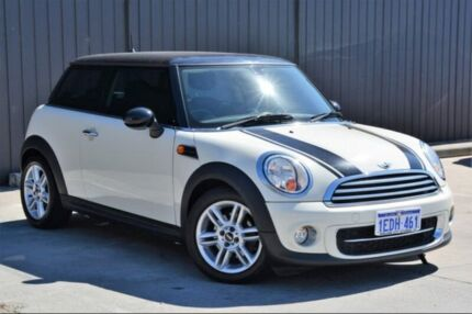 2012 Mini Hatch R56 LCI Cooper D Steptronic White 6 Speed Sports Automatic Hatchback Midvale Mundaring Area Preview