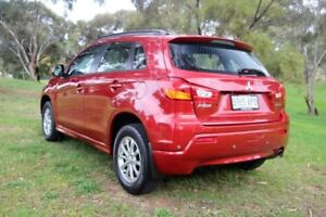 2011 Mitsubishi ASX Red Constant Variable Wagon