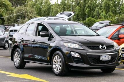 2011 Mazda CX-7 ER10L2 Classic Activematic Black 5 Speed Sports Automatic Wagon Ringwood East Maroondah Area Preview