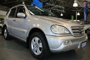 2005 Mercedes-Benz ML W163 270 CDI Special Edition (4x4) Silver 5 Speed Auto Tipshift Wagon Victoria Park Victoria Park Area Preview