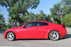 2004 Infiniti G35 Coupe 6MT RED