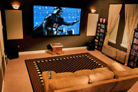 INSTALLATION OF HOME THEATER TV WALL MOUNTS TELEVISION MONTREAL