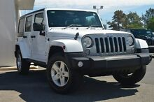 2014 Jeep Wrangler JK MY2014 UNLIMITED FREEDOM White 5 Speed Automatic Softtop Nailsworth Prospect Area Preview
