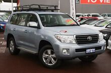 2012 Toyota Landcruiser VDJ200R MY12 Altitude Blue 6 Speed Sports Automatic Wagon Cannington Canning Area Preview