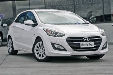 2015 Hyundai i30 GD3 Series II MY16 Active DCT White 7 Speed Sports Automatic Dual Clutch Hatchback Hillcrest Logan Area Preview