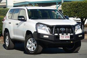 2014 Toyota Landcruiser Prado KDJ150R MY14 GX Glacier White 5 Speed Sports Automatic Wagon Acacia Ridge Brisbane South West Preview