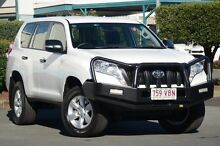 2014 Toyota Landcruiser Prado KDJ150R MY14 GX Glacier White 5 Speed Sports Automatic Wagon Acacia Ridge Brisbane South West Preview