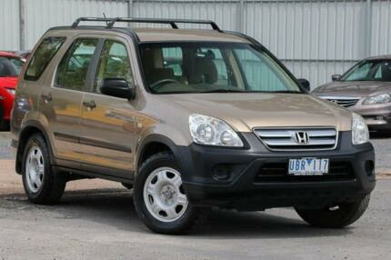 2006 Honda CR-V RD MY2006 4WD Gold 5 Speed Manual Wagon Ferntree Gully Knox Area Preview