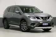2016 Nissan X-Trail T32 ST N-Sport SE Silver (fwd) Grey Continuous Variable Wagon Bentley Canning Area Preview