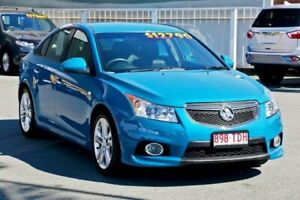 2013 Holden Cruze JH Series II MY14 SRi-V Perfect Blue 6 Speed Sports Automatic Sedan Cleveland Redland Area Preview