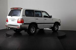 2001 Toyota Landcruiser FZJ105R GXL (4x4) White 4 Speed Automatic 4x4 Wagon McGraths Hill Hawkesbury Area Preview