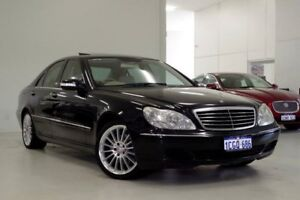 2003 Mercedes-Benz S350 W220 MY04 Black 5 Speed Automatic Sedan Myaree Melville Area Preview