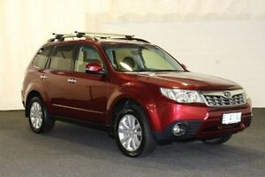 2011 Subaru Forester MY11 XS Premium Red 5 Speed Manual Wagon Derwent Park Glenorchy Area Preview
