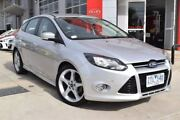 2013 Ford Focus LW MKII Titanium PwrShift Silver 6 Speed Sports Automatic Dual Clutch Hatchback Hoppers Crossing Wyndham Area Preview
