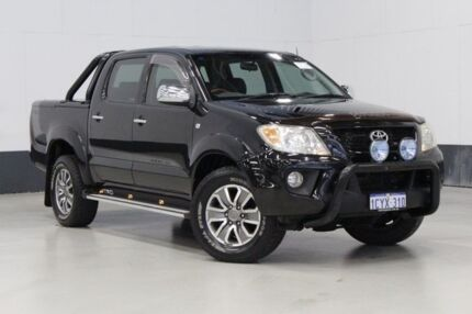 2008 TRD Hilux 4000SL (4x4) GGN25R 08 Upgrade Black 5 Speed Automatic