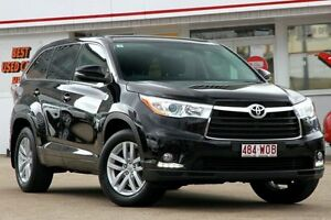 2014 Toyota Kluger GSU55R GX AWD Diamond Black 6 Speed Sports Automatic Wagon Woolloongabba Brisbane South West Preview