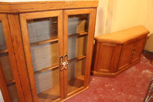 Hutch Set (hutch, coffee table, hallway table, 2 end tables)
