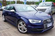 2014 Audi S3 8V MY14 Sportback S tronic quattro Blue 6 Speed Sports Automatic Dual Clutch Hatchback Pearce Woden Valley Preview