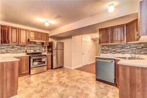 2 bedroom basement apartment available for rent