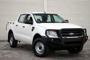 2014 Ford Ranger PX XL Double Cab White 6 Speed Sports Automatic Utility Seaford Frankston Area Preview