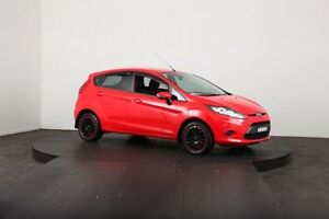 2012 Ford Fiesta WT CL Red 5 Speed Manual Hatchback McGraths Hill Hawkesbury Area Preview