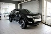 2018 Ford Ranger PX MkII MY18 XLT 3.2 (4x4) Shadow Black 6 Speed Automatic Dual Cab Utility Thornleigh Hornsby Area Preview