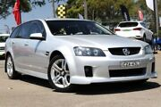 2010 Holden Commodore VE MY10 SV6 Sportwagon Nitrate Silver 6 Speed Sports Automatic Wagon Condell Park Bankstown Area Preview