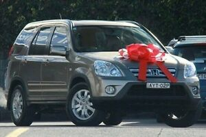 2006 Honda CR-V Sport 4WD Gold 5 Speed Automatic Wagon Pennant Hills Hornsby Area Preview