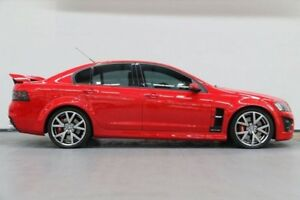 2007 Holden Special Vehicles GTS E Series Red 6 Speed Manual Sedan