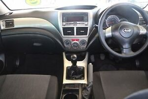 2009 Subaru Impreza G3 MY09 R AWD Silver 5 Speed Manual Sedan Minchinbury Blacktown Area Preview
