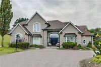 **4 Acres *Stunning Home! Enjoy Over 5700 Sqft Of Living Space**