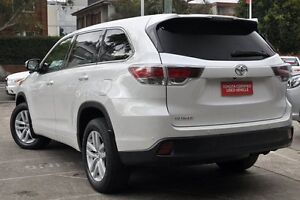 2015 Toyota Kluger GSU50R GX 2WD Crystal Pearl 6 Speed Sports Automatic Wagon Mosman Mosman Area Preview