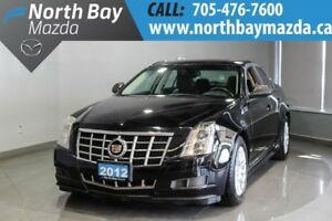 2012 Cadillac CTS 3.0L V6 Engine + Leather Interior + Heated Fro