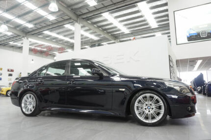 2006 BMW 540i E60 Sport Black 6 Speed Auto Steptronic Sedan