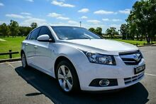 2009 Holden Cruze JG CDX White 6 Speed Automatic Sedan Wetherill Park Fairfield Area Preview