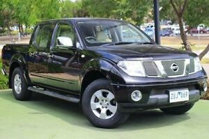2011 Nissan Navara D40 MY11 ST Black 6 Speed Manual Utility Berwick Casey Area Preview